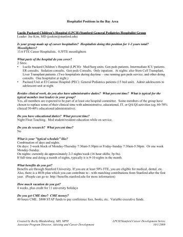 2_Job_Opportunities_.. - Pediatrics House Staff - Stanford University