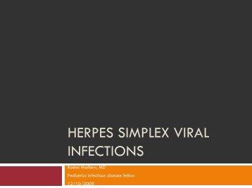 Human Herpes viruses (HHV)