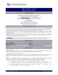 Pegno di titoli o valori - Documento senza titolo