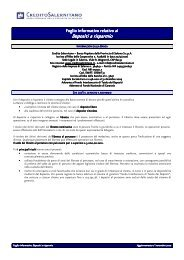 Depositi a risparmio - Documento senza titolo