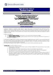 Certificati di deposito - Documento senza titolo