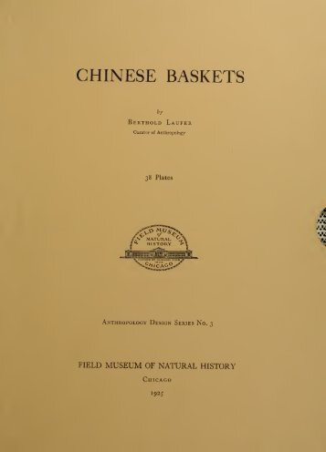 Chinese baskets