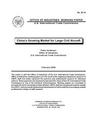 China's Growing Market for Large Civil Aircraft - Library