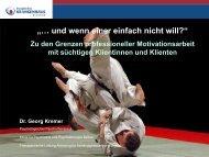 """""""Und wenn einer einfach nicht will?"""" — Vortrag Dr. Kremer (PDF)"""