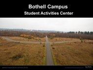UW Bothell Student Activities Center