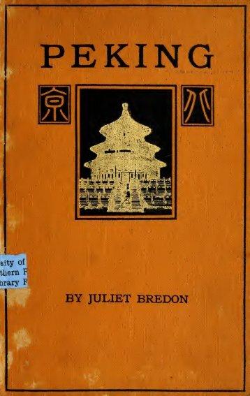 Bredon_pekinghistorical.pdf (26.77 Mo) - Virtual Beijing