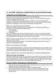 Protokoll - ILIASuisse