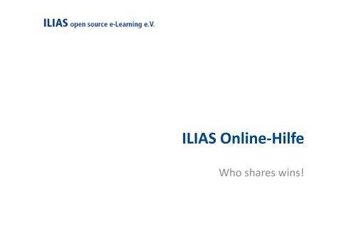 ILIASuisse Info