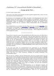 Artikel 09-08-28 - Der AmSeL-Gedanke Plus = Gemeinschaft