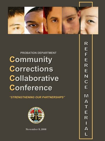 Community Corrections Collaborative Conference - Los Angeles ...
