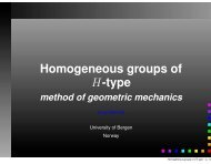Homogeneous groups of H-type