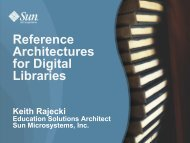 Reference Architectures for Digital Libraries - (lib.stanford.edu) include