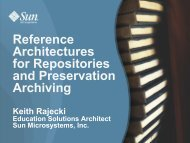 Reference Architectures - (lib.stanford.edu) include
