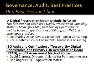 A Digital Preservation Maturity Model in Action - (lib.stanford.edu ...
