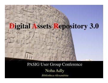Digital Assets Repository 3.0 - (lib.stanford.edu) include