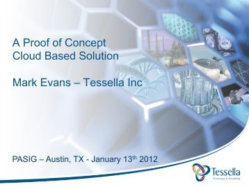A Proof of Concept Cloud Based Solution Mark Evans - (lib.stanford ...