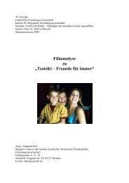 Tsatsiki – Freunde für immer - Medienpädagogik TU Dresden