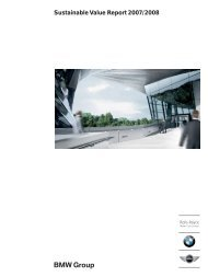 Sustainable Value Report 2007/2008 - Econsense