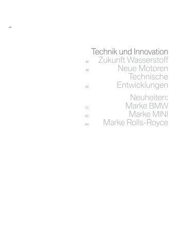Technik und Innovation Zukunft Wasserstoff Neue ... - BMW Group