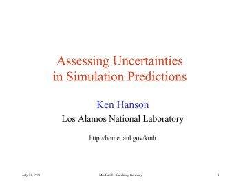 pdf, 110 KB - Kenneth Hanson - Home page