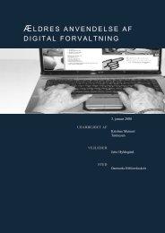 ldres anvendelse af digital forvaltning - Forskning