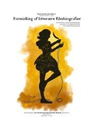 Formidling af litterære filmbiografier - Forskning