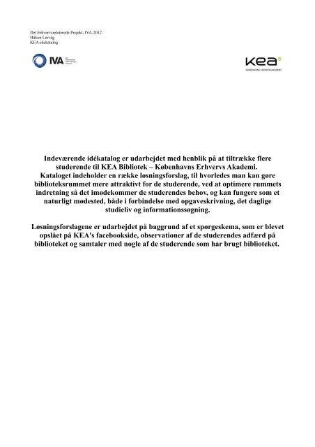 kea_idekatalog - Forskning - IVA