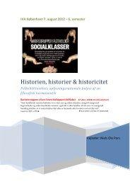 Historien, historier & historicitet - Forskning - IVA