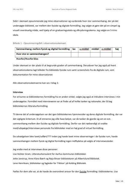 SPECIALET - Forskning - IVA
