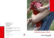Kinderbetreuung zu Hause - SRK Bern