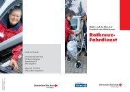 Rotkreuz- Fahrdienst - SRK Bern