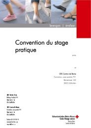 Convention du stage pratique - SRK Bern