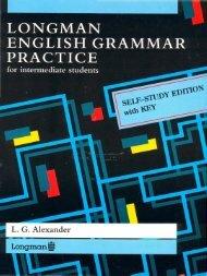 Longman English Grammar Practice for Intermediate Students