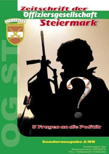 Sichere Steiermark: was kann das neue Bundesheer? - OGST.at