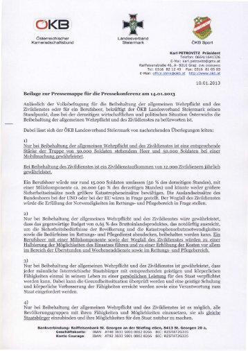 Österreichischer Kameradschaftsbund Karl Petrovitz - OGST.at