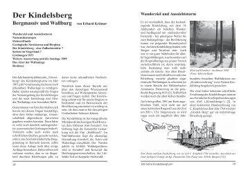 Wallanlage Kindelsberg - Kreuztal