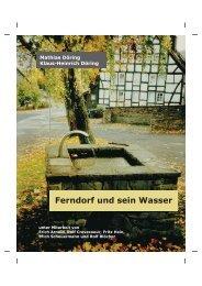 Ferndorf und sein Wasser
