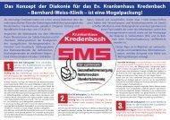 Bernhard-Weiss-Klinik – ist eine Mogelpackung! - Ferndorf