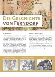 Die Geschichte von Ferndorf