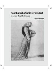 Nachbarschaftshilfe Ferndorf ehemals Begräbniskasse