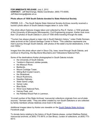 FOR IMMEDIATE RELEASE: July 2, 2012 CONTACT: Jeff ...