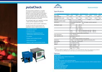 pulseCheck - APE