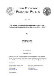 The Spatial Diffusion of a Knowledge Base-Laser Technology ...