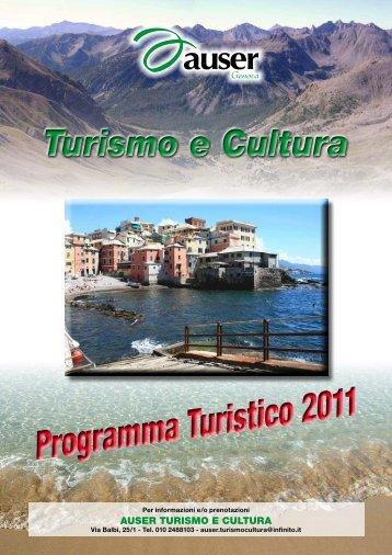 Programma Turistico 2011 - Auser Liguria