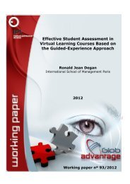 Effective Student Assessment in Virtual Learning Courses Based on ...
