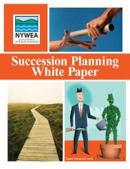 Succession Planning White Paper - NYWEA