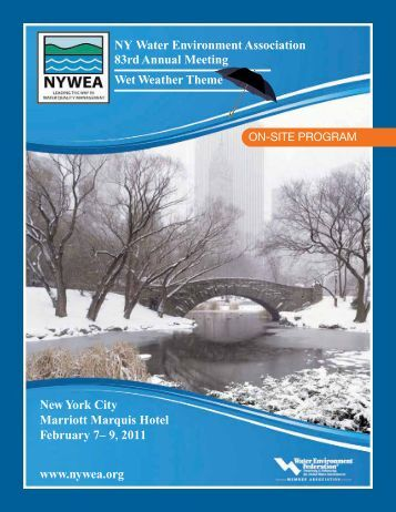 NY Water Environment Association 83rd Annual Meeting ... - NYWEA