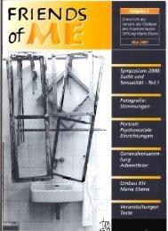 4. Ausgabe - Mai 2001 - Stiftung Maria Ebene