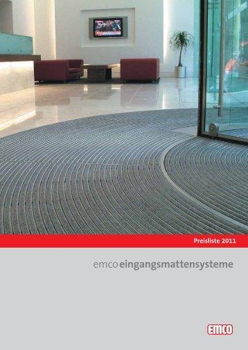 EMCO Preisliste und Uebersicht - Schibli Bodenbelaege