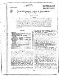 y&i§w[i^gg¥¥ ®F m m / A Simplified Statistical ... - University of Utah